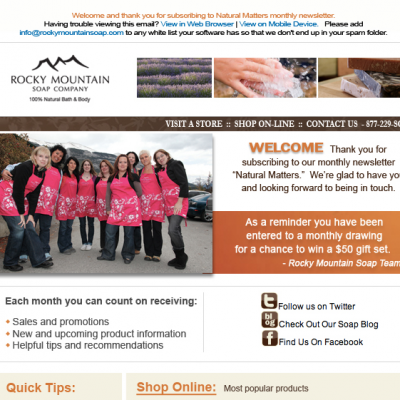 Rocky Mountain Soap Company